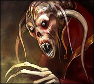 Искусный маг, сильнейший колдун Хаоса, он повелитель порождений мрака и изощренный создатель самых изысканных колдовских каверз, заклинаний и ритуалов, убивающих и разрушающих.