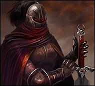 Его лицо и тело скрыто доспехами, он загадочная и таинственная личность мира Фэо.  Точно известно лишь то, что он мастерски владеет мечом, профессией палача, и в гневе он страшен!