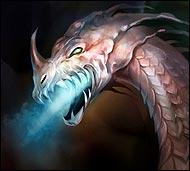 Великий белый дракон, гигантский огнедышащий Эрифариус сотворен Шеарой из энергии расы людей. Олицетворяет систему убеждений и общую мощь людей.  Характер спокойный, уравновешенный, в душе философ.