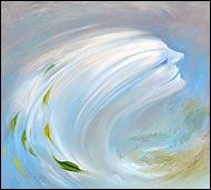 Бесплотное существо, посланник Бога Эарита, сын природы, он вестник бурь и проводник воздушных элементалий в мире Фэо.