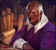 Старожил Дартронга, советник старейшины, прорицатель, философ и хранитель священных писаний и заветов,  он своего рода посредник в передаче мантр и знаний своему народу
