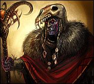 Великий колдун расы магмаров, профессор светлой и темной магии, умелый мастер изготовления различных свитков. Он силен и могуществен, у него есть чему поучиться.