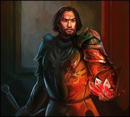 Хранитель арсенала подземных рыцарей, ответственный за поставку, хранение оружия и военного снаряжения подземных рыцарей, он также обеспечивает и контролирует обмундирование личного состава Союза.