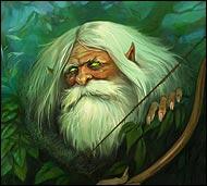 Злобный лесной дух, он заманивает путников в чащу, похищает девушек и детей, посылает болезни, лишает разума