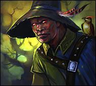 Лесной сторож, он следит за порядком, оберегая свои владения от нападок порождений темной магии, слуг Хаоса и невежд-людей. Природа благоволит к нему, одаряя особыми знаниями и умениями, а обитатели леса считают своим лучшим другом.