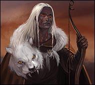 Мастер ловли дичи, зверей и птиц, он ловко расставляет силки и капканы, знает все тропы лесных животных, распознает зверя по хрусту веток, а пернатых - по шороху крыльев.