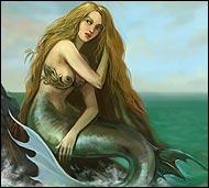 Жилица вод, сказочная златовласая красавица и любительница шалостей, она может утащить в водную пучину любого зазевавшегося путника.