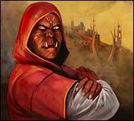 Глава Станицы Дыбрач, властный и порою жесткий, но справедливый магмар.  Он умело правит своим селением, и воинами руководить мастер и бытовую проблему разрешить сумеет.