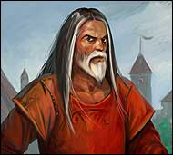 Глава Буймановой слободы, мудрый, познавший жизнь старик, он давно заслужил доверие местных жителей, которые слушают его советы и подчиняются беспрекословно.